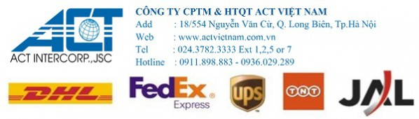 Chuyển phát nhanh Ý Việt (DHL, TNT, FedEx) – Hotline: 0911.898.883