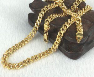 Dây chuyền Nam mạ vàng trang sức Candy