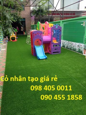Cỏ nhân tạo, cỏ trang trí giá tốt nhất Hà Nội 098 405 0011