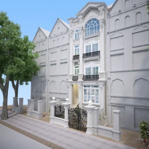 Thiết kế biệt thự tân cổ điển tại Trung Kính – Hà Nội