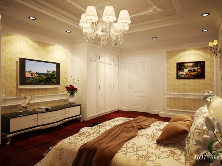 Thiết kế nội thất tân cổ điển tại chung cư Tây Hồ