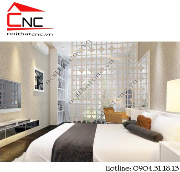 10 mẫu vách ngăn cnc cho phòng ngủ hiện đại, đẹp thần thánh tại tphcm.