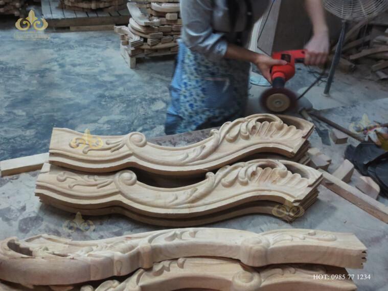 Xưởng sản xuất nội thất tân cổ điển – cổ điển tại Hà Nội