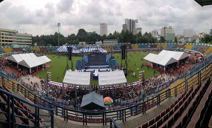 Nhà bạt sự kiện toàn quốc