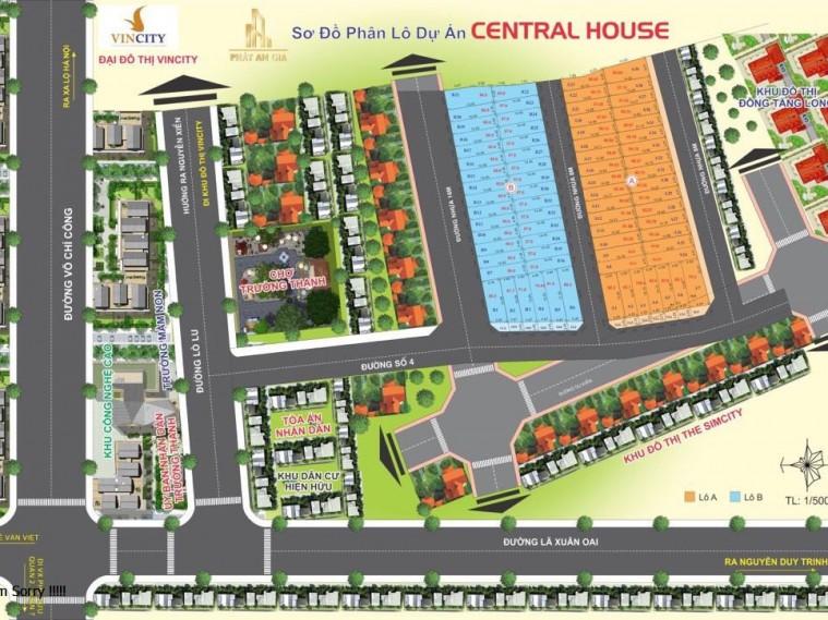 Dự án Central House mới 100% cách Vincity 1km và khu CN Cao 500m