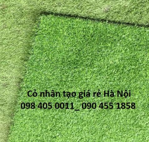 Cỏ nhân tạo trang trí giá rẻ ngoài trời 2cm 098 405 0011