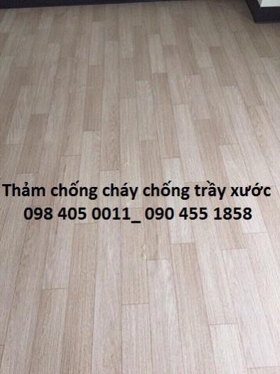 Sàn nhựa chống cháy giá rẻ Thanh Xuân 098 405 0011