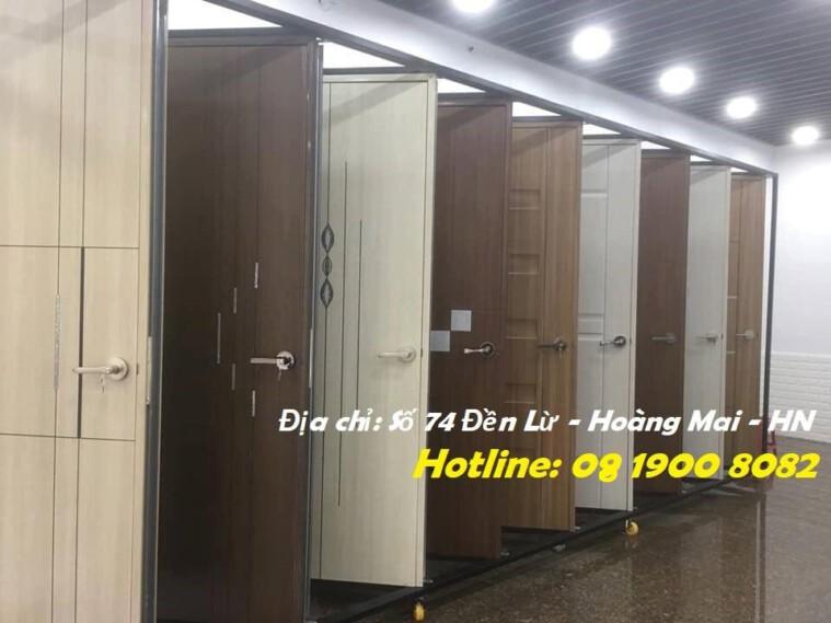 Cửa Phòng ngủ, cửa nhà vệ sinh Chất liệu ABS NHẬP KHẨU Hàn Quốc