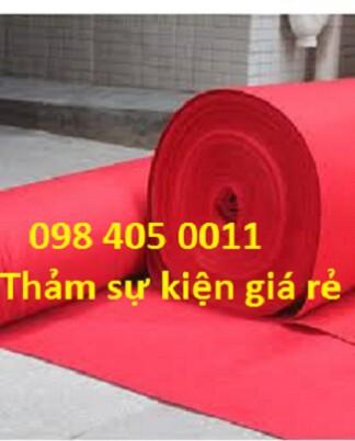 Thảm nỉ sự kiện sân khấu có vat Hà Nội 098 405 0011
