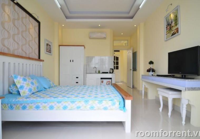 Cho thuê phòng đủ nội thất view đẹp gần DH Tài chính Bình Thạnh