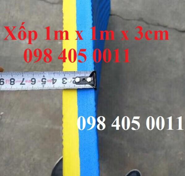 Xốp 1m x 1m dày 3cm tập thể dục độ bền cao 098 405 0011