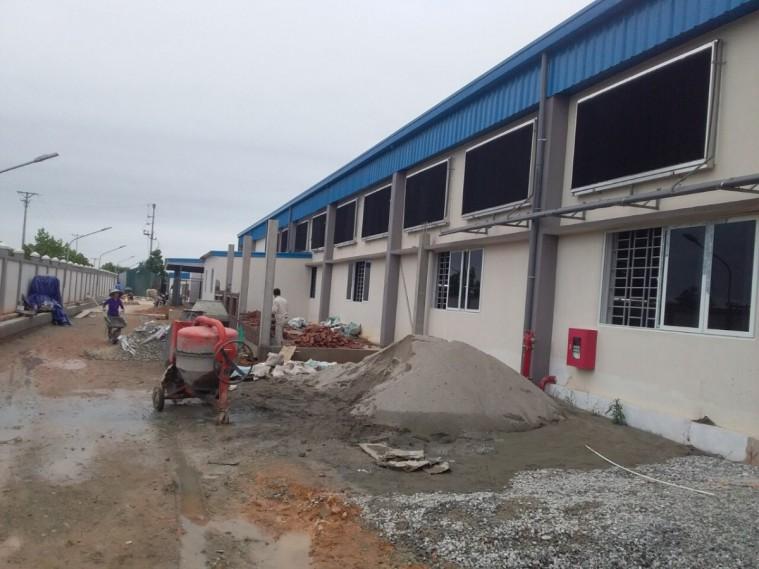 Nhà máy sản xuất tấm làm mát Cooling pad tại Việt Nam