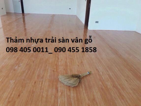 Địa chỉ bán sàn nhựa giả gỗ giá rẻ Hà Nội 098 405 0011