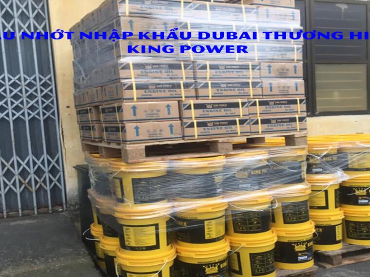 Tổng đại lý dầu nhớt nhập khẩu DUBAI tại Việt Nam, tìm nhà phân phối dầu nhớt khu vực Bình Dương