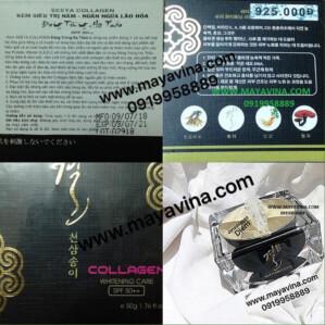 Kem SEEYA COLLAGEN Đông Trùng Hạ Thảo là dòng mỹ phẩm-550k-30g