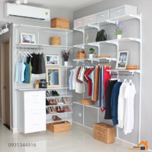 Tủ đồ nữ đa năng, tiết kiệm không gian phòng ngủ với thiết kế sang trọng