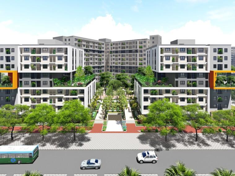 Bán căn hộ 60m2 Chung cư CT3-CT4 Kim Chung, Đông Anh giá 780 triệu