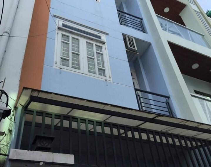 bán gấp nhà 4 tầng lê văn sỹ Phú Nhuận 4×12, 7,3 tỷ