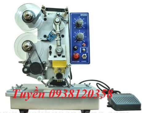 Máy in date bán tự động, máy in date HP241B