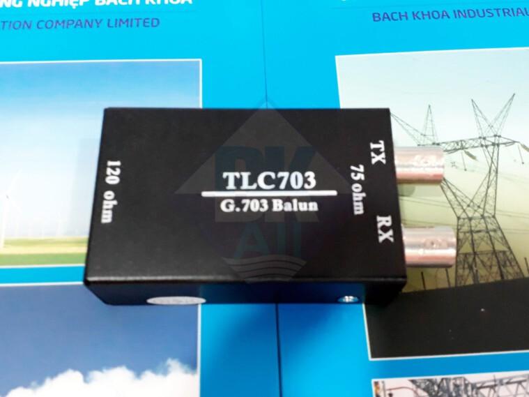 TLC703: Bộ chuyển đổi Balun 75ohm-120ohm