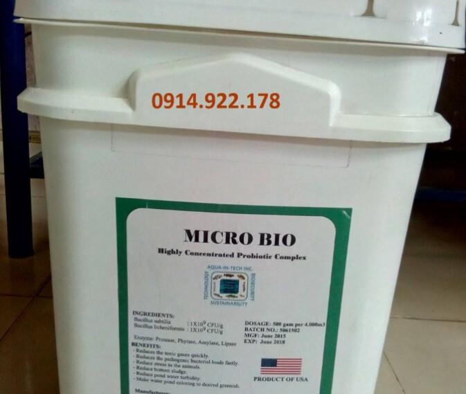 Micro Bio – Men vi sinh xử lý nước và đáy