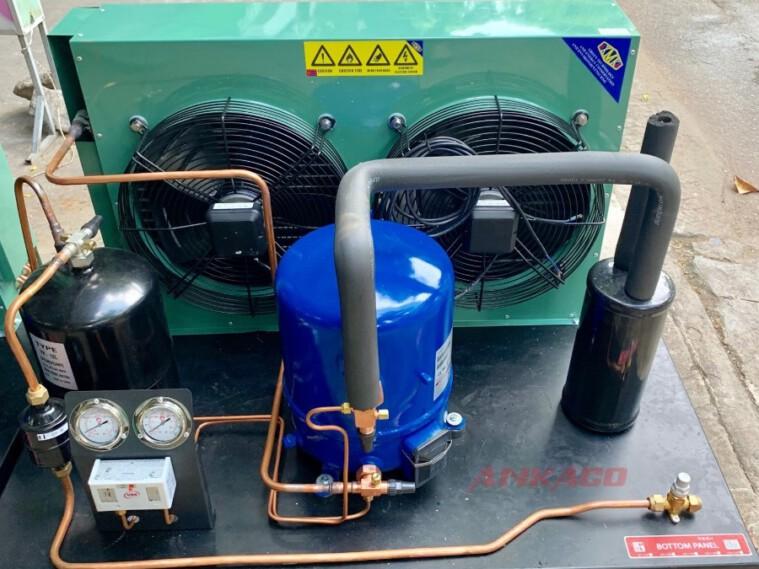ANKACO – Phân phối cụm máy nén dàn ngưng Danfoss 12hp SM148T4VC