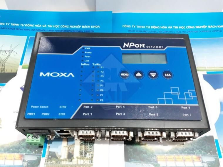 NPort 5610-8-DT: Bộ chuyển đổi 8 cổng RS232 sang Ethernet