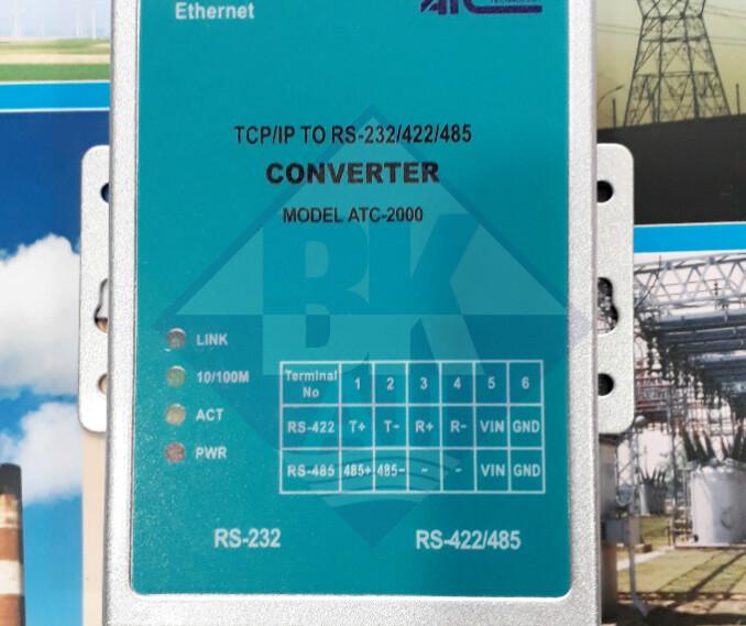 ATC-2000: Bộ chuyển đổi tín hiệu rs232/485/422 sang tcp/ip