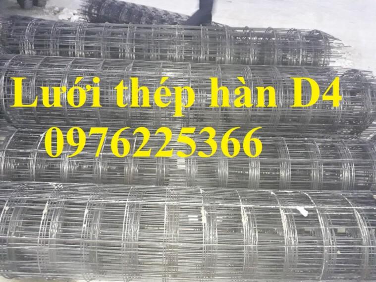 Lưới thép hàn D4 a150