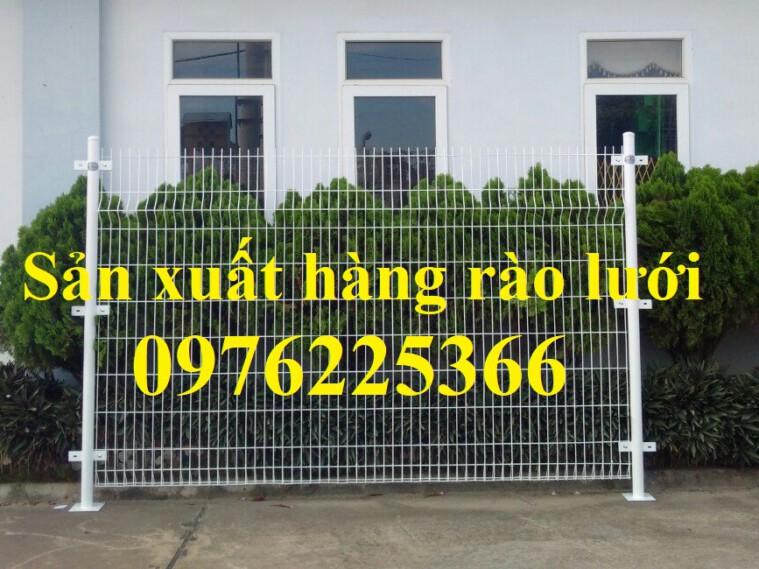 Hàng rào lưới thép sơn tĩnh điện, hàng rào lưới thép mạ kẽm