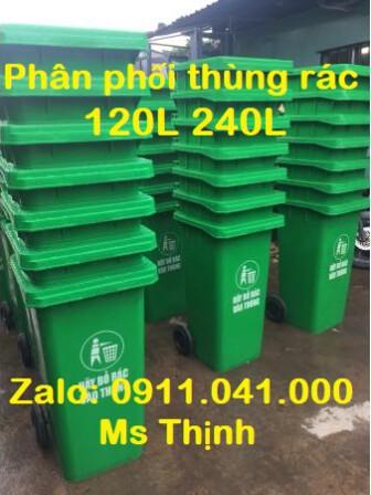 Thùng rác 120l 240l giá rẻ cạnh tranh thị trường lh 0911.041.000
