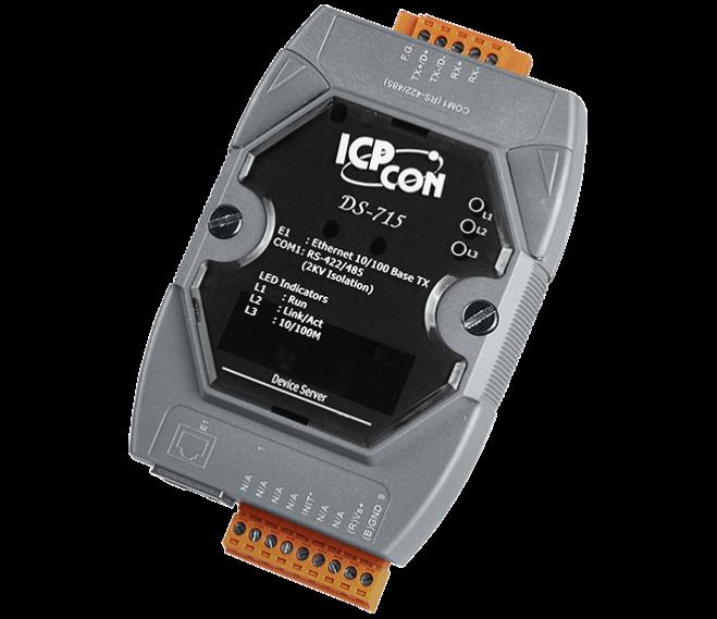 DS-715: Bộ chuyển đổi tín hiệu RS232/485/422 sang Ethernet