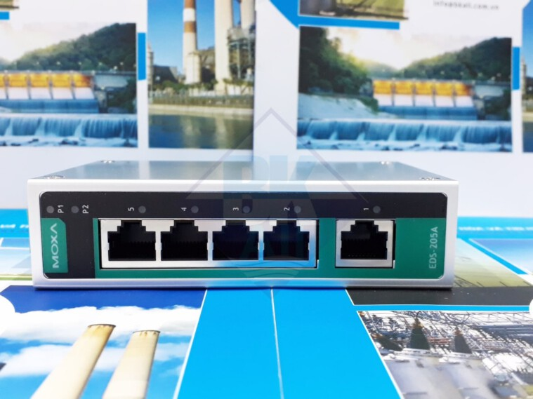 EDS-205A: Switch công nghiệp 5 cổng Ethernet