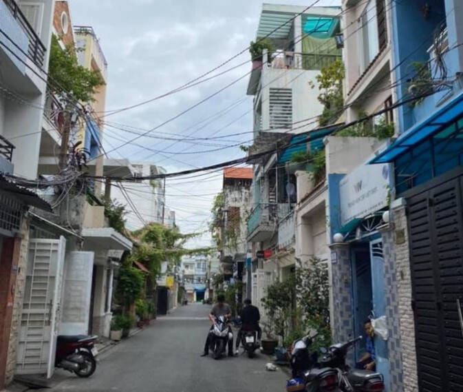 Bán nhà HXH 195 đường XVNT, Phường 21, quận Bình Thạnh