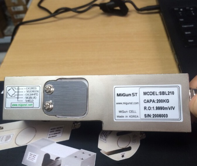 Cảm biến lực SBL210 , Loadcell thanh Migun sản xuất tại Hàn Quốc