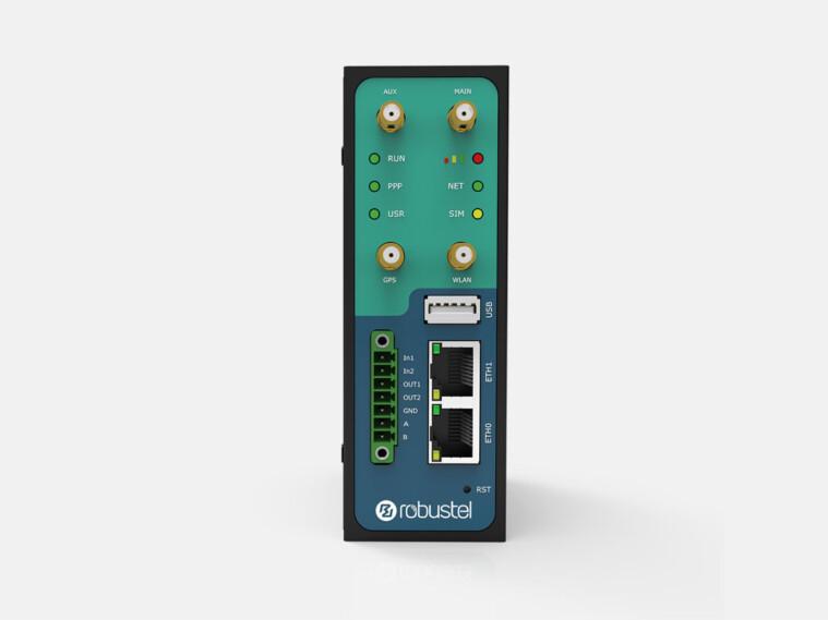 R3000-3P: dual sim industrial cellular VPN router