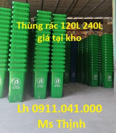 Chuyên sỉ lẻ thùng rác 60lit 120lit 240lit giá rẻ toàn quốc