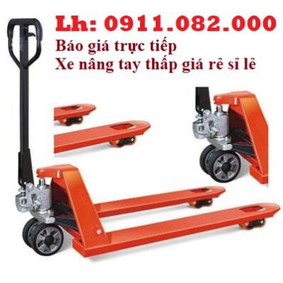 Cung cấp xe nâng tay thấp 3 tấn giá rẻ tại hậu giang-hàng nhập khẩu đài loan – lh 0911082000