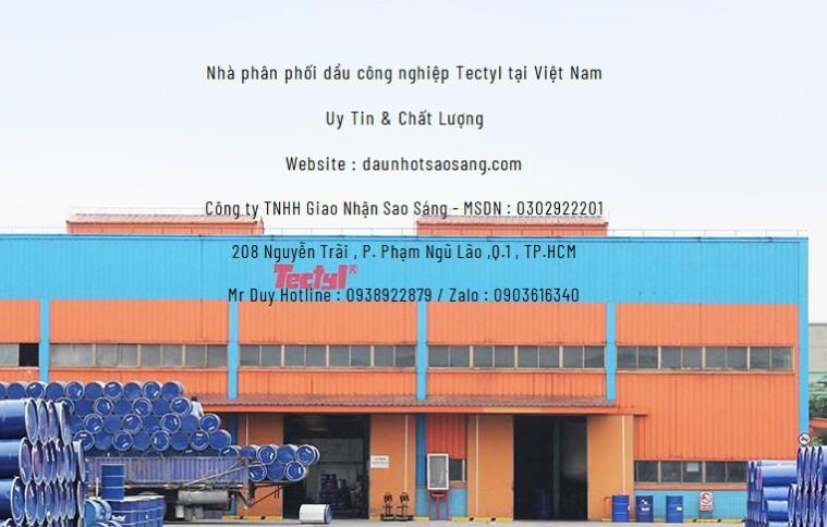 Dầu Tectyl bôi trơn công nghiệp – Industrial Lubrican