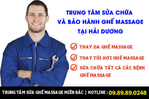 Sửa ghế massage ở Hải Dương gọi 0989890248