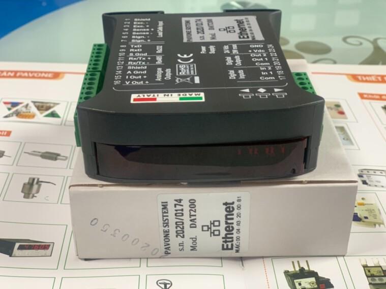 0915322692 – DAT 200 Ethernet Đồng hồ cân sản xuất tại Pavone Italy